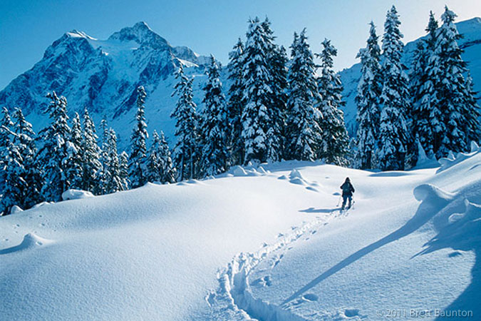 Mount Shuksan, Cross Country Skiing