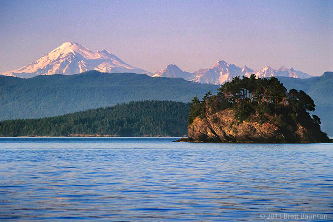 Mount Baker, Cone Islands, San Juans