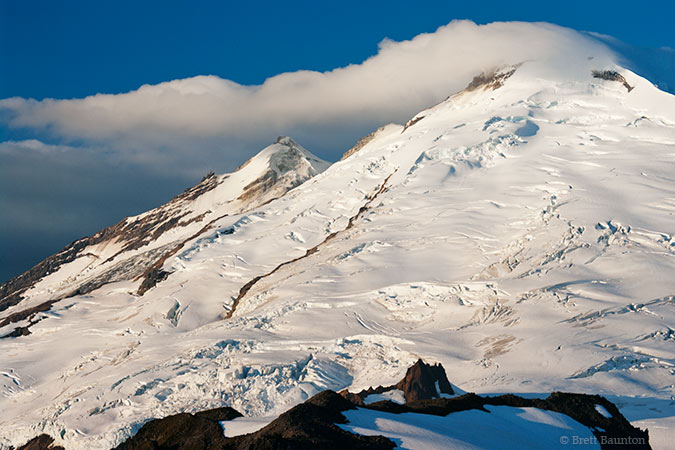 Mount Baker, Glaciers from Ptarmigan Ridge